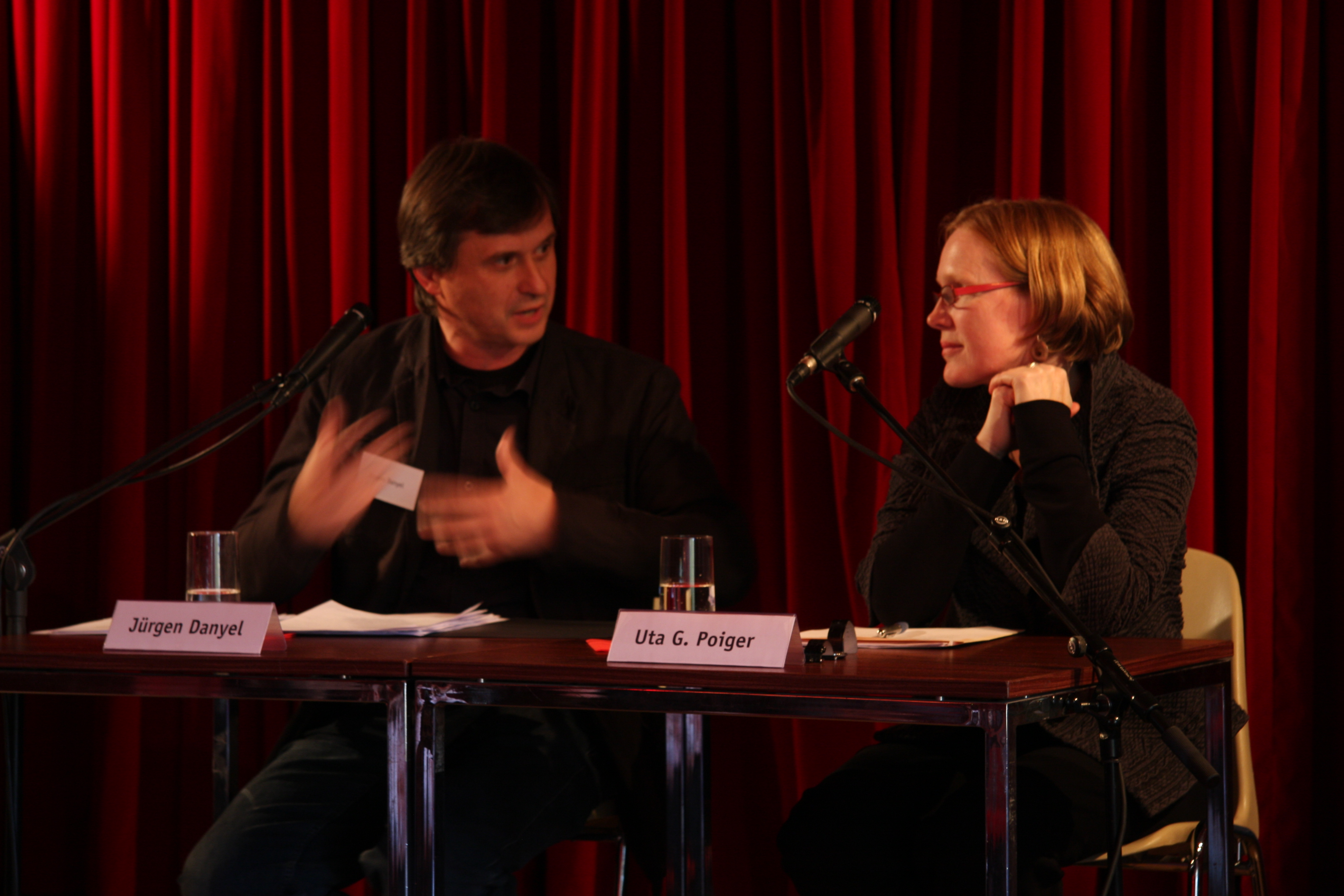Jürgen daniel und Uta Poiger